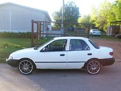 blacksican 1994 Kia Sephia