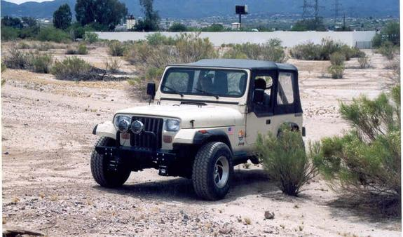 Another apinkjeepthing 1989 Jeep Wrangler post... - 1484014