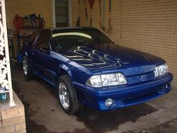 89sonicblue 1989 Ford Mustang