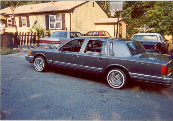 Lincolnswirl401 1990 Lincoln Town Car Specs Photos Modification