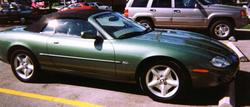 mikestegs 1998 Jaguar XK Series