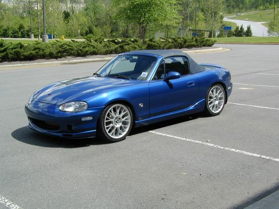 blueblur 1999 mazda miata mx 5 specs photos modification. Black Bedroom Furniture Sets. Home Design Ideas