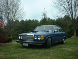 Gfisher2wheeler 1977 Mercedes-Benz D-Class