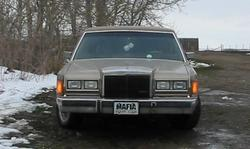 bigvic50 1989 Lincoln Town Car