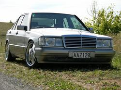 metskas 1992 Mercedes-Benz 190-Class