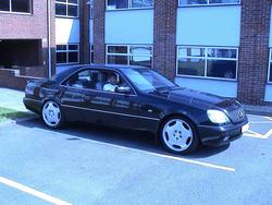 CL500_Benz_98s 1998 Mercedes-Benz CL-Class