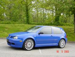 JazzBlue20th 2003 Volkswagen Golf