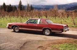 the_bomber 1976 Dodge Monaco