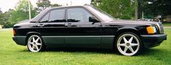 Usabenzys 1989 Mercedes-Benz 190-Class