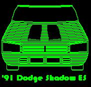 Dephyant 1991 Dodge Shadow