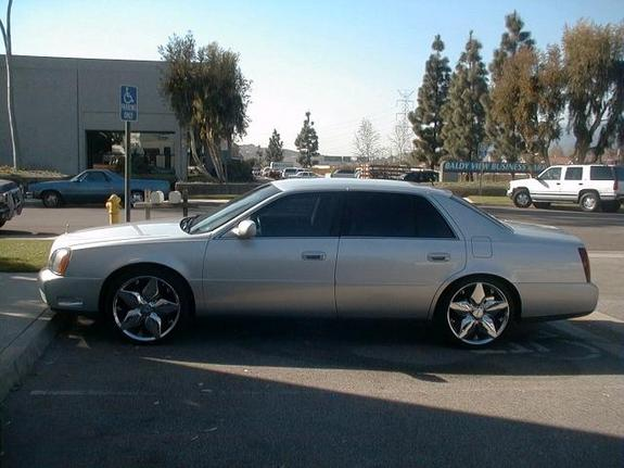 Another lexani28 2001 Cadillac DeVille post... - 1657550