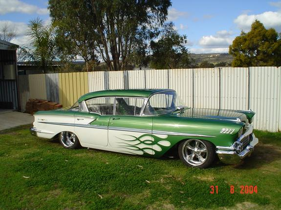 58chev 1958 chevrolet bel air 39 s photo gallery at cardomain. Black Bedroom Furniture Sets. Home Design Ideas