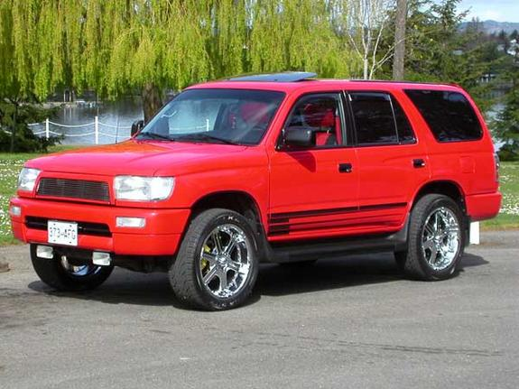 m1ataman 1997 toyota 4runner specs photos modification. Black Bedroom Furniture Sets. Home Design Ideas