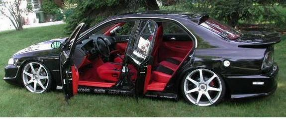 shaved accord 1997 honda accord specs photos. Black Bedroom Furniture Sets. Home Design Ideas