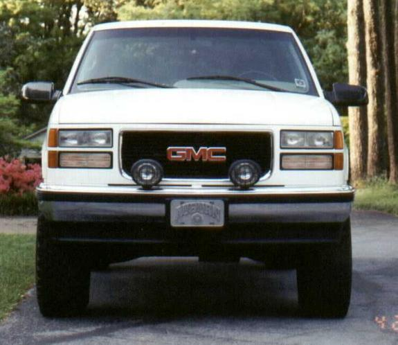 WTH02 1995 GMC Sierra 1500 Regular Cab Specs, Photos
