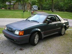 1987 Ford EXP Sport Coupe