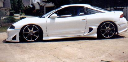 White Demon 1995 Mitsubishi Eclipse Specs Photos