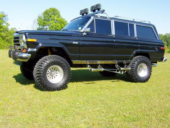 scotteac 1988 jeep grand wagoneer specs photos modification info at cardomain cardomain