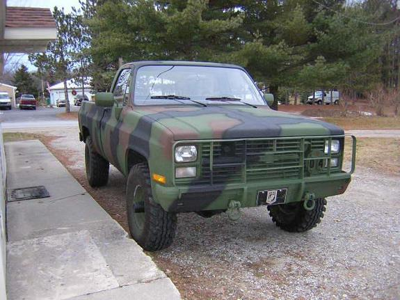 AJMBLAZER 1986 Chevrolet C/K Pick-Up Specs, Photos