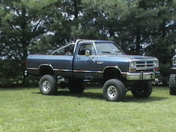 Dodgezilla 1987 Dodge W-Series Pickup