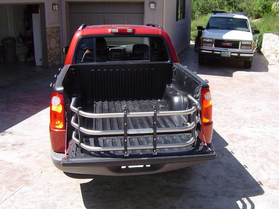 Ford Explorer Sport Trac Bed Size With Extender