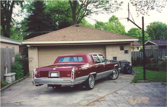 1990_Caddy 1990 Cadillac Brougham Specs, Photos, Modification Info
