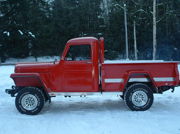 MonsterBoy16's 1953 Willys Pickup