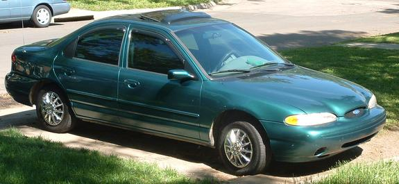 29+ 1996 Ford Contour Green