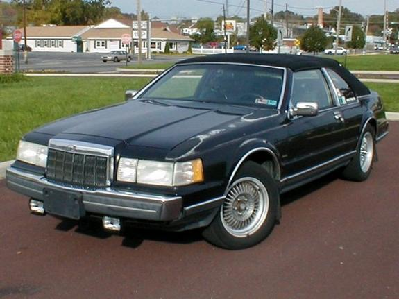 oldschool1 1990 Lincoln Mark VII