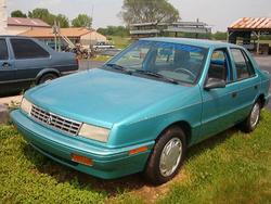 EvolutionTrust85 1993 Plymouth Sundance