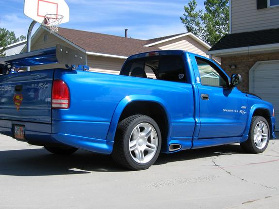 Large on 1999 Dodge Dakota Drag Truck