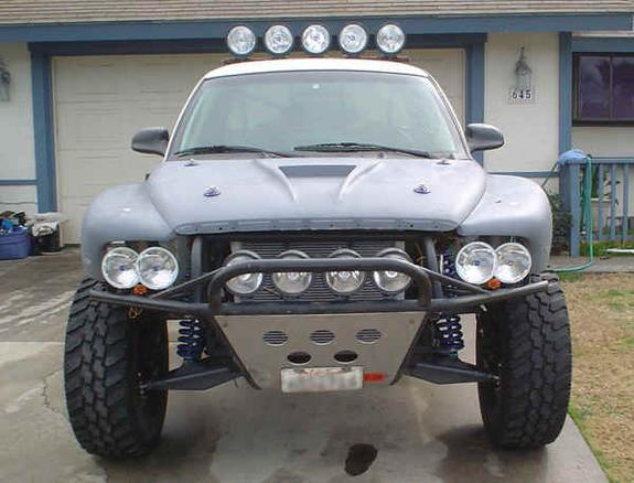 Large on Dodge Dakota Bumper