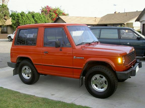Volvo Of Orange County >> 951Fever 1987 Dodge Raider Specs, Photos, Modification ...