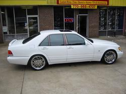 thehoegetter 1997 Mercedes-Benz S-Class