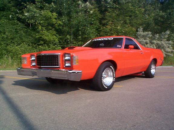 grabberorange78 1978 ford ranchero 3762470009_large - 1978 Ford Ranchero