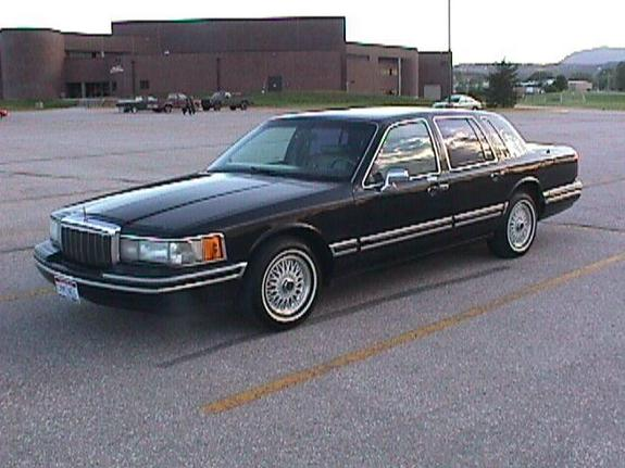92linc 1992 Lincoln Town Car Specs Photos Modification Info At Cardomain