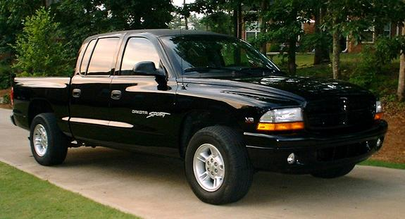 Large on Dodge Dakota Running Boards