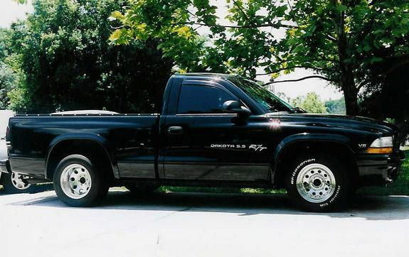 Large on Dodge Dakota Single Cab