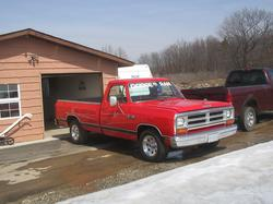 DODGED100 1987 Dodge D150 Club Cab