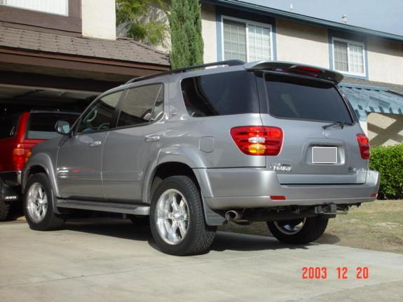 Large on 2006 Toyota Sequoia