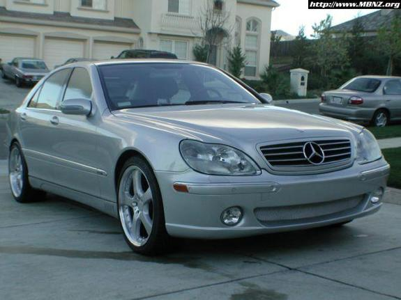 Mpowers 2002 mercedes benz s class specs photos for Mercedes benz s class 2002