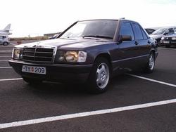 einarsigs 1992 Mercedes-Benz 190-Class