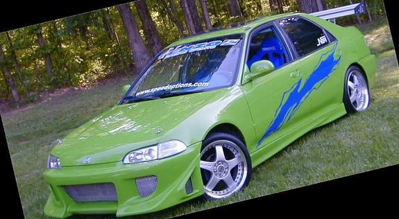 Pimped Out Honda Civic Si xZCiViCZx 1995 ...