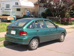CivicsBeShit 1996 Ford Aspire