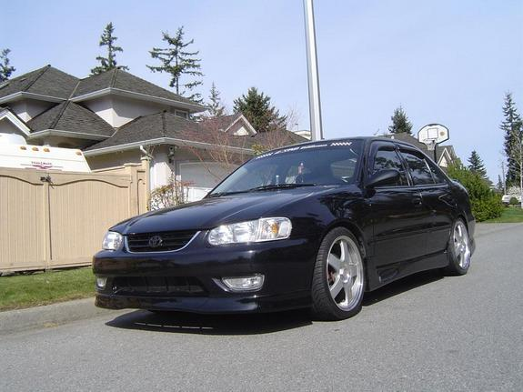 mingww 2001 Toyota Corolla Specs, Photos, Modification Info