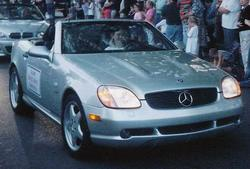 mercedeswreckers 2000 Mercedes-Benz SLK-Class