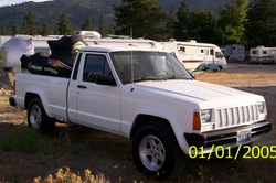 skiboarderbum420s 1987 Jeep Comanche Regular Cab