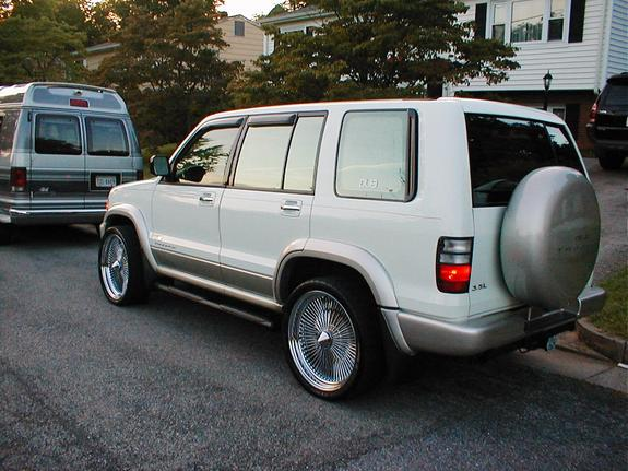 meaness13 2002 isuzu trooper specs, photos, modification info at