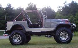 TwigsSilvers 1984 Jeep CJ7