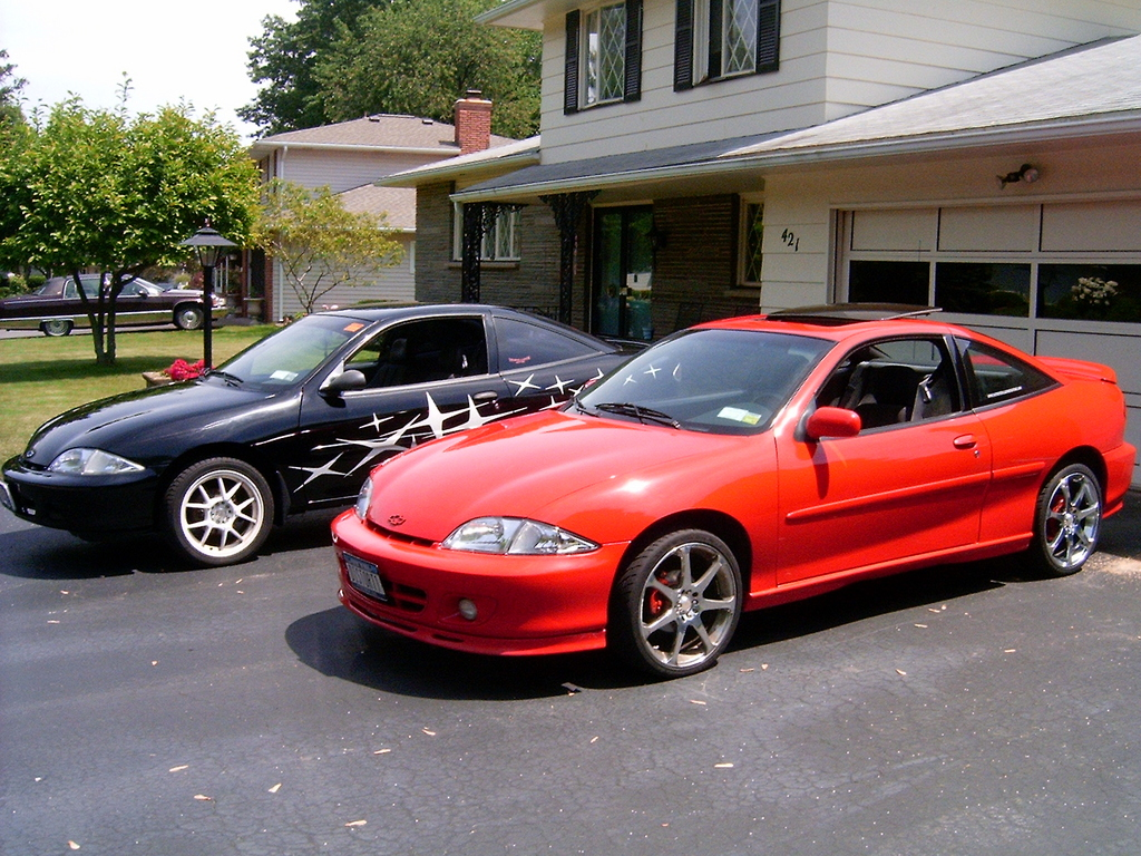 This Is A 1996 Sunfire I Had That Did 99 Cavalier Front End Conversion